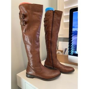 Aldo Leather Riding Boots